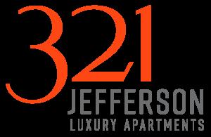 Large Orange 321 Jefferson logo