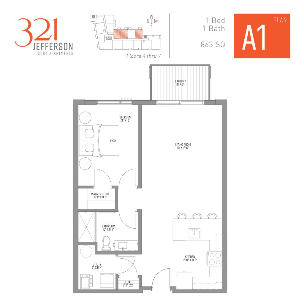 321 Jefferson a1 Floor Plan