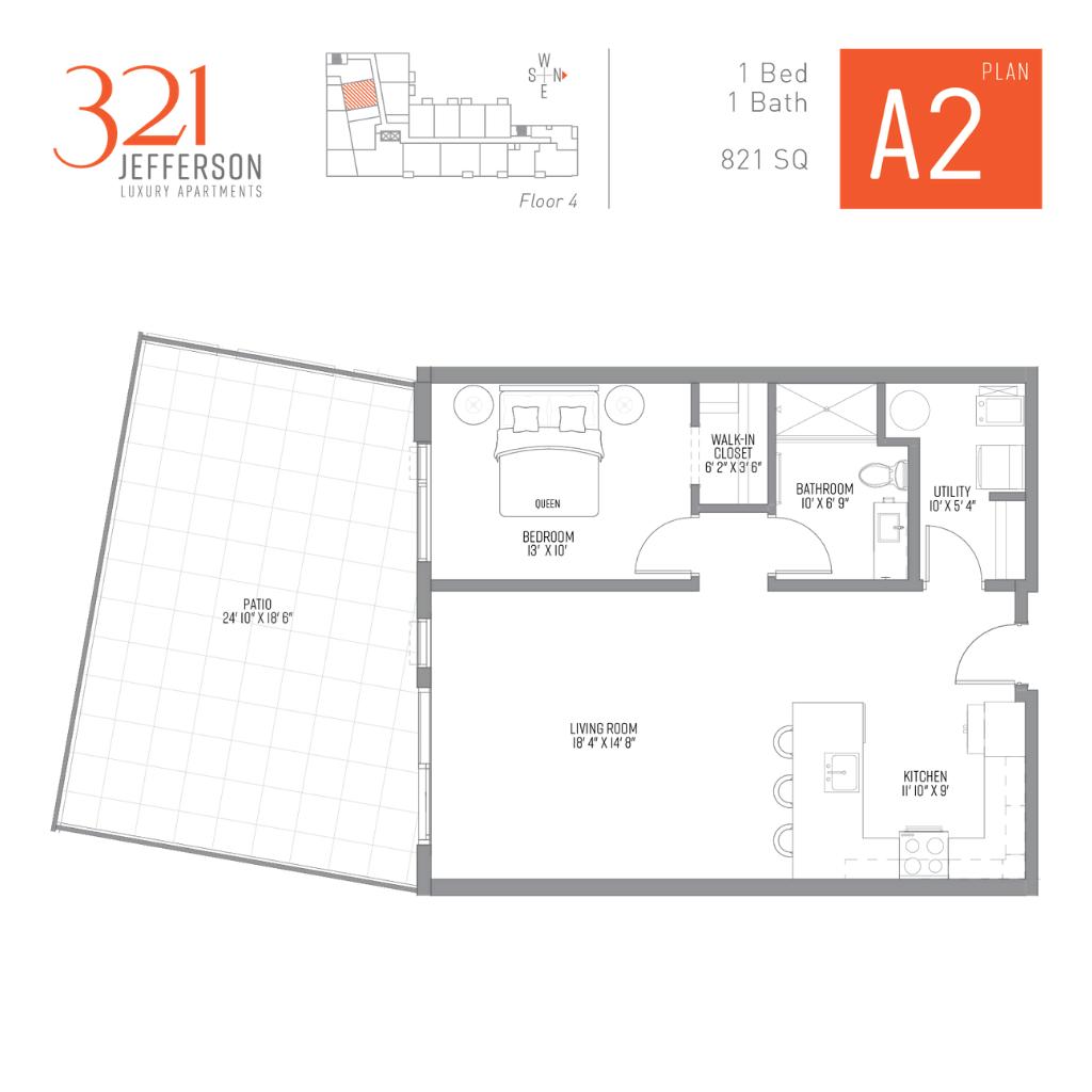 321 Jefferson a2 Floor Plan