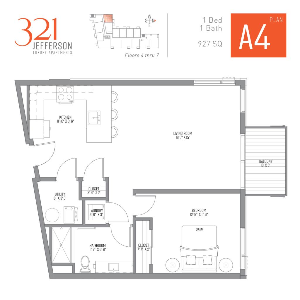 321 Jefferson a4 Floor Plan