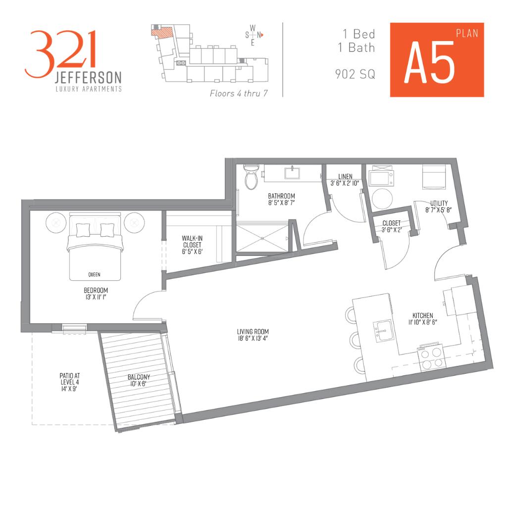321 Jefferson a5 Floor Plan