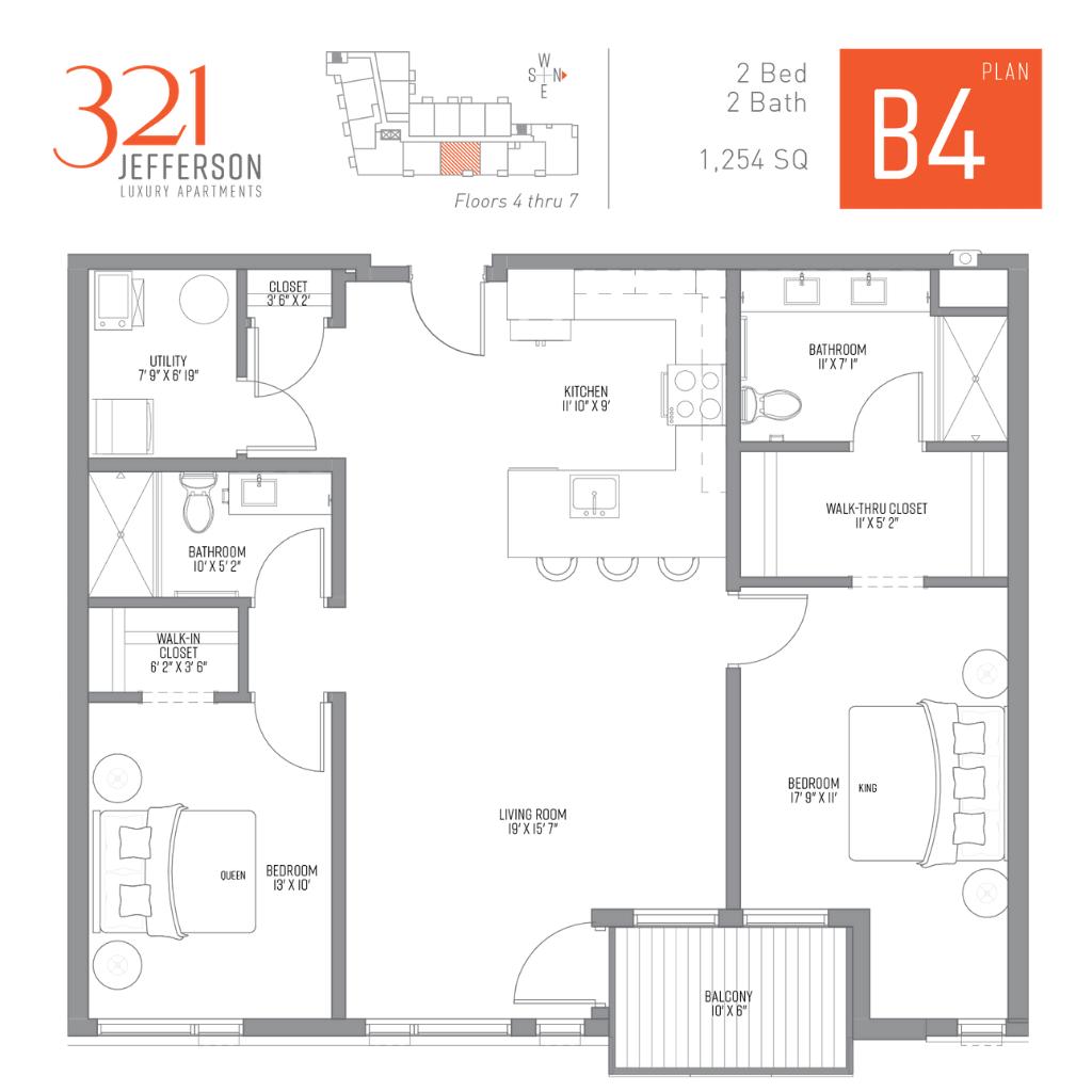 321 Jefferson b4 Floor Plan
