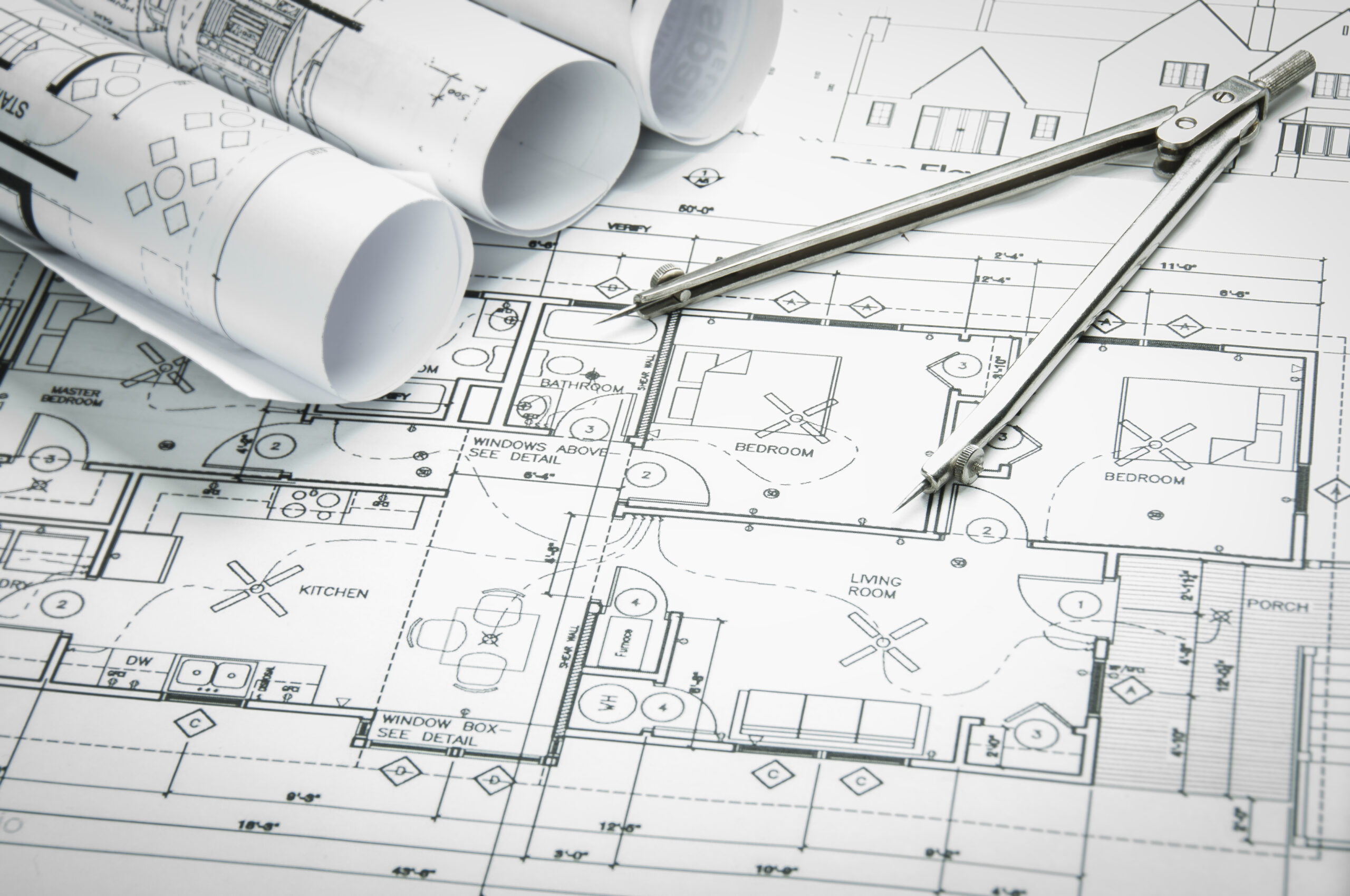 Floorplan blueprint